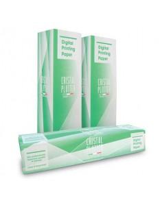 Rotoli carta plotter Rotolificio Pugliese pura cellulosa opaca Cristal 90 g/mq 91,4cm x 50m conf. 4 pezzi - D91P49
