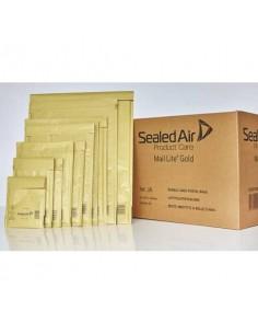 Buste imbottite Mail Lite® Gold D 18x26 cm Avana conf. 100 pezzi 103027403