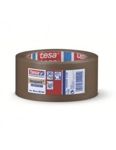 Nastri adesivi per la spedizione tesa tesapack® 4100 PVC goffrato 50mm x 66m marrone - 04100-00228-00