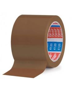 Nastri adesivi per la spedizione tesa 4120 nastro in PVC, marrone, 66m:75mm marrone - 04120-00043-00