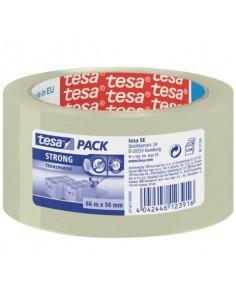 Nastri adesivi per la spedizione tesa tesapack® forte 50 mm x 66 m trasparente 57167-00000-05