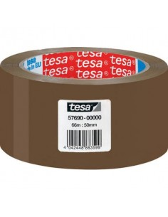 Nastri adesivi per la spedizione tesa acrilico 50 mm x 66 m avana 57690-00000-00