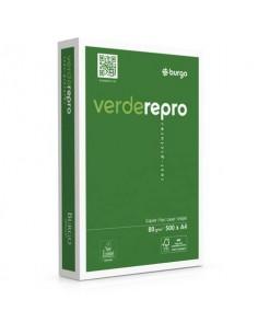 Carta per fotocopie A4 Burgo Repro Verde - High Quality 80 gr. bianca Risma 500 fogli - 8144