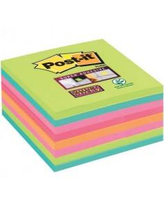 Foglietti Post-it® Super Sticky Notes assortiti conf. 8 blocchetti da 45 ff - 654-8SS-RBW-EU