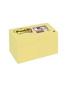 Foglietti riposizionabili Post-it® Super Sticky 51x51 mm Giallo Canary™ 622-12SSCY-EU