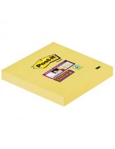 Foglietti riposizionabili Post-it® Super Sticky Notes 76x76 mm 90 ff Giallo Canary™ - 654-12SSCY-EU