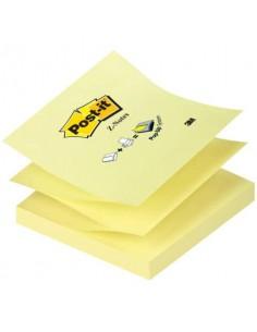 Foglietti riposizionabili classici Post-it® Ricarica Z-Notes Giallo Canary™ blocchetto da 100 ff - R330