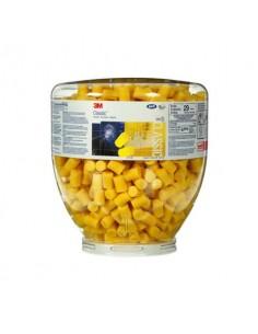 Inserti auricolari 3M affusolati E-A-R™ Classic giallo boccione da 500 paia - PD-01-001