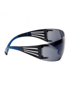 Occhiali di protezione 3M SecureFit™ 400 Scotchgard™ montatura blu/grigio SF402SGAF-BLU