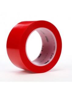 Nastro per segnaletica Scotch® rotolo in vinile rosso 471 ROSSO