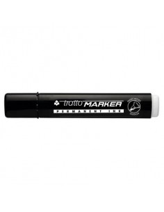 Marcatore permanente TRATTO Marker punta tonda 4,7 mm nero 841103