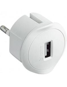 Adattatore spina 10A bticino con presa USB 1,5A bianco S3625DU