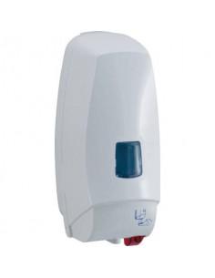 Distrib. elettronico detergenti liquidi cm 12,5x13x27,5 QTS in ABS capacità 1000 ml bianco 5008B/TOE
