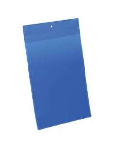Tasche per identificazione Durable con magneti al neodimio blu f.to esterno mm. 223x368- inserto A4 vert. Cf. 10- 174707