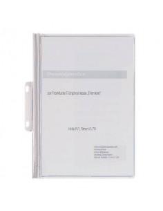 Cartellina per rilegatura DURABLE DURABIND® robusto PVC A4 1-30 fogli bianco - 225002