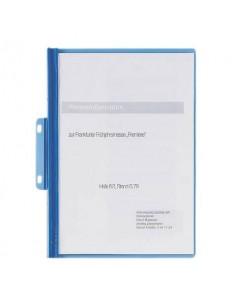 Cartellina per rilegatura DURABLE DURABIND® robusto PVC A4 1-30 fogli azzurro - 225006
