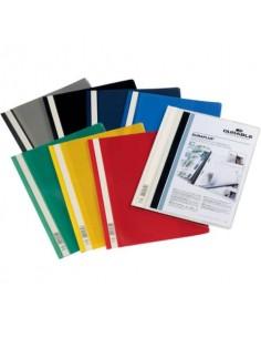 Cartellina ad aghi DURABLE DURAPLUS® A4 colori assortiti Conf. 25 pezzi - 257900
