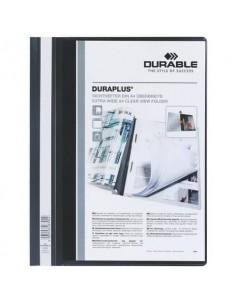Cartellina ad aghi DURABLE DURAPLUS® A4 nero 257901