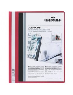 Cartellina ad aghi DURABLE DURAPLUS® A4 rosso 257903