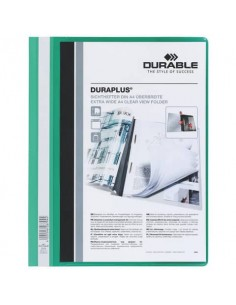 Cartellina ad aghi DURABLE DURAPLUS® A4 verde 257905