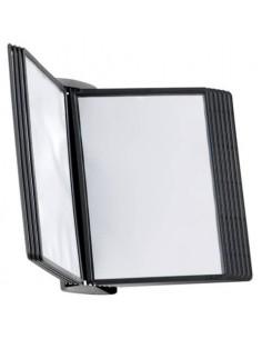 Leggio da parete DURABLE SHERPA® STYLE WALL 10 pannelli A4 nero 585401