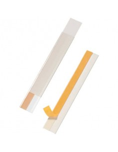 Portaetichette adesivi DURABLE SCANFIX 40 polipropilene trasparente 40x200 mm conf. 5 - 802519