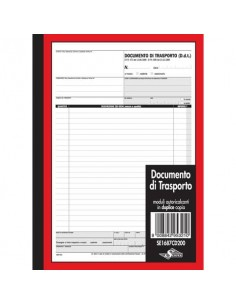 Documento di trasporto Semper blocco di 50/50 copie autoricalcanti 29,7x21,5 cm SE1687CD200