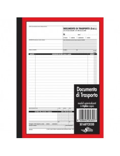 Documento di trasporto Semper blocco di 33/33/33 copie autoricalcanti 29,7x21,5 cm - SE1687CD330