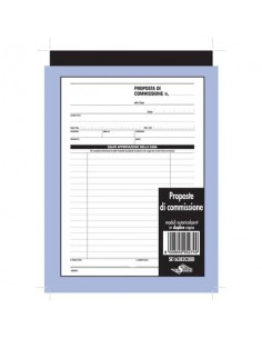 Proposte di commissione Semper blocco di 50/50 copie autoricalcanti 21,5x14,8 cm SE16382C000