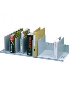 Reggilibri Paperflow con 10 separatori mobili grigio K421202