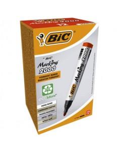 Marcatore permanente BIC Marking 2000 punta conica 4,95 mm rosso 8209133