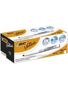 Marcatori per lavagne bianche BIC Velleda 1741 punta conica 4,5 mm nero 9581711