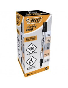 Marcatore permanente BIC Marking PRO punta conica 1,1 mm nero 964800