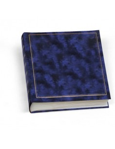 Album portafoto Lebez 50 fogli con velina blu 0378-BL