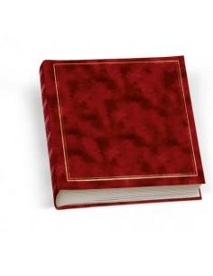 Album portafoto Lebez 50 fogli con velina rosso 0378-R