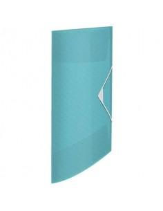 Cartella a 3 lembi Esselte Colour'Ice PP goffrato A4 blu 626222