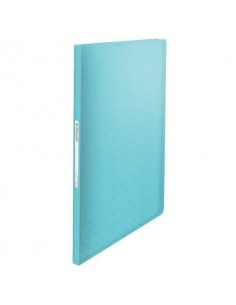 Portalistino Esselte Colour'Ice polipropilene A4 blu 626227