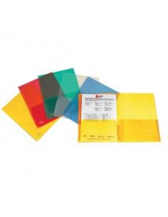 Cartellina con tasca King Mec Full A4 21x29,7 cm trasparente 111418