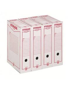 Scatola archivio King Mec Storage Legale 9x37x26 cm bianco 160200