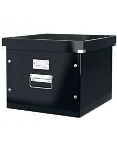 Contenitore per cartelle sospese Leitz CLICK & STORE A4 nero 60460095