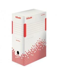 Scatola archivio Esselte SPEEDBOX dorso 15 cm bianco/rosso 15x25x35 cm 623909