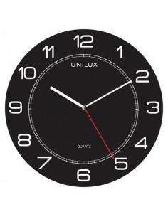 Orologio da parete al quarzo UNILUX Mega Ø 57,5 cm nero 400094568