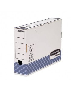 Scatole archivio FELLOWES Bankers Box® System 8,5x36,6x25,8 cm blu/bianco legal 0023701