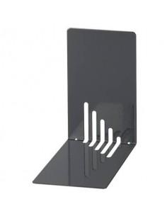Reggilibri MAUL acciaio nero 140x140x85mm Conf. 2 pezzi - 3501090