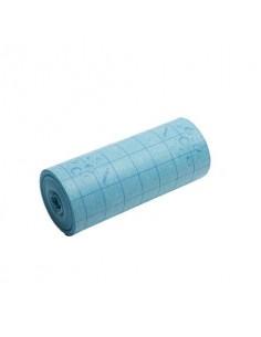 Rotolo pannospugna 25x1000 cm Vileda Professional Quick'n Dry in cotone e cellulosa blu - 100145