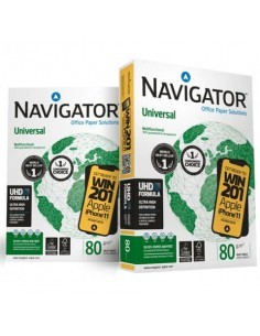 Carta per fotocopie A4 Navigator Universal 80 g/m² Risma da 500 fogli - NUN0800652
