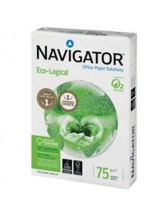 Carta per fotocopie A4 Navigator Ecological 75 g/m² Risma da 500 fogli - NEC0750088