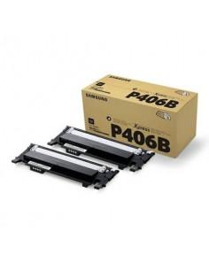 Toner CLT-P406B Samsung nero Conf. 2 - SU374A