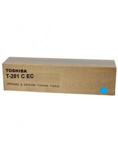 Toner T-281CE-EC Toshiba ciano 6AK00000046