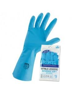 Guanti riusabili in nitrile Icoguanti azzurro M MPNLX/M